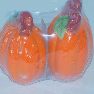 Other - NEW Pumpkin Pair Salt & Pepper Shakers